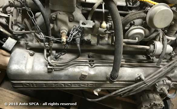 Engine trans combination for 240z or 260z