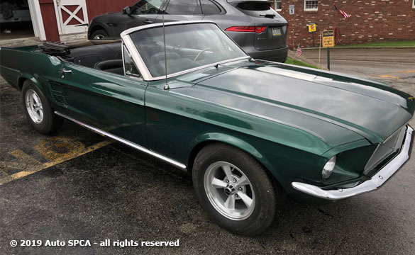 1967 Classic Mustang  Convertible