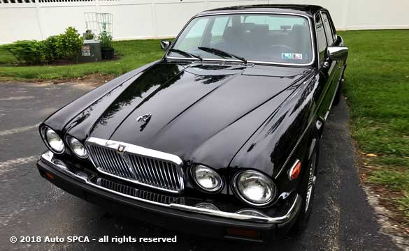 1986 Jaguar XJ6 Sovereign Edition