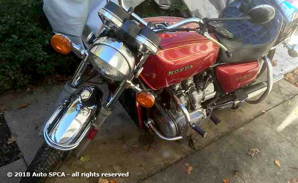 1975 Honda Goldwing Motorcycle